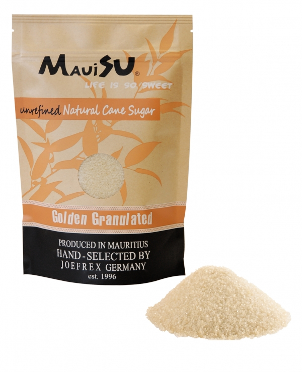MauiSU Golden Granulated Rohrzucker 500g