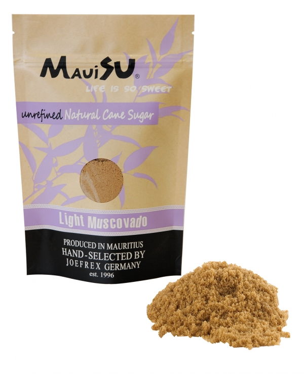 MauiSu Light Muscovado Rohrzucker 500g